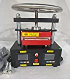 2000+ PSI Professional Rosin Press Machine Hand Crank Duel Heated Plates (2.4'' x 4.7'' ) (110V)