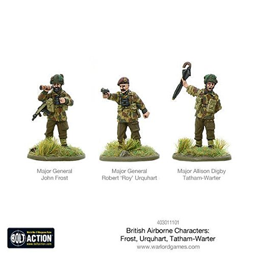 Warlord Games, Bolt Action - British Airborne Characters