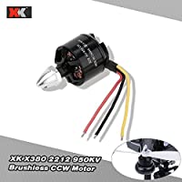 2pcs XK X380-009 2212 950KV Brushless CCW Motor for XK X380 RC Quadcopter