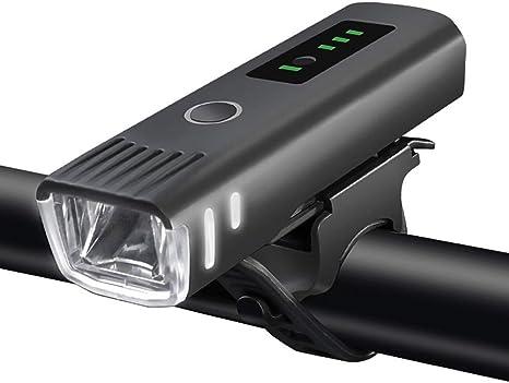 Luz Delantera Bici USB Luz para Bicicleta Led Luz Frontal para ...