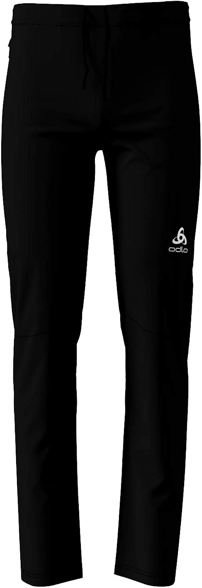 black Odlo Pants AEOLUS ELEMENT WARM 622232