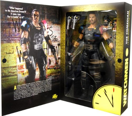 DC Comics Watchmen Movie Comedian 1:6 Scale Figure