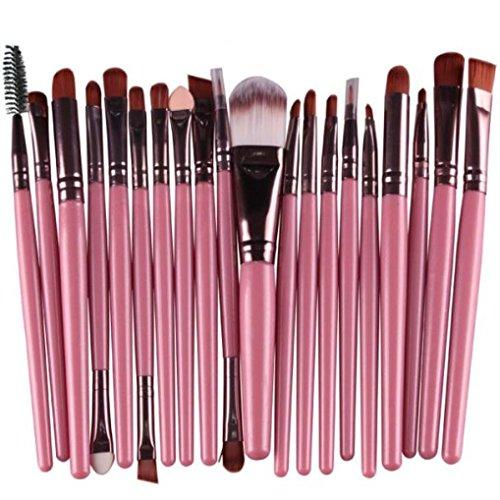Misaky 20 Pieces Makeup Brush Set Professional Face Eye Shad