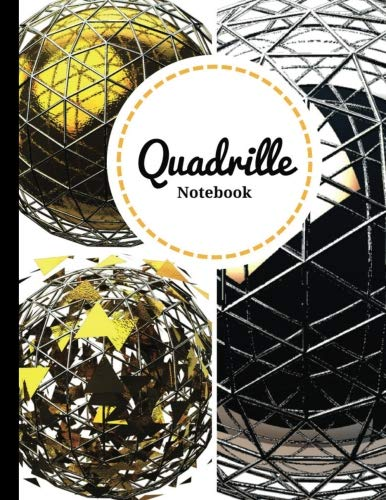 Quadrille Notebook: 4x4 | Cute Graphing Composition Notebook | Soft Cover | 8.5 (Quadrille Notebooks)