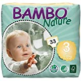 Bambo Nature Nature Midi (5-9 Kg, 33, Size 3)