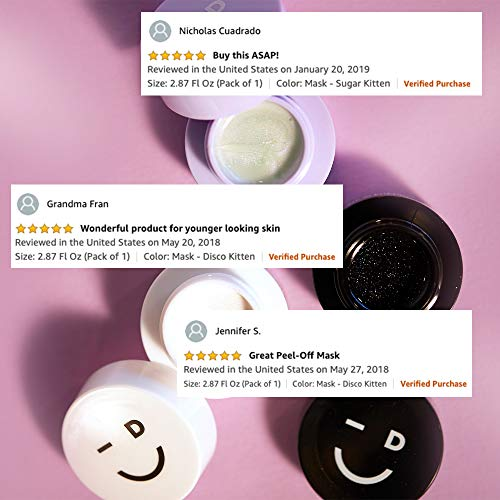 I DEW CARE Mini Meow Trio   Peel Off Face Mask Set: Hydrating Mask, Illuminating Mask, Exfoliating Mask   Korean Skincare, Facial Treatment, Cruelty-free, Gluten-free, Paraben-free