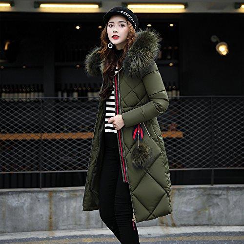 Code Cotton Sau Algeria Long Clothing Coat Jacket Cotton Big ArmyGreen Women'S Xuanku Winter Cotton Leisure HvwdAAqp