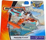 2008 Matchbox Sky Busters PANAMA FLYER MBX METAL 16 OF 36 (orange and white) 4