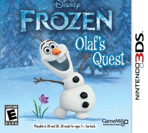 Frozen: Olaf's Quest - Nintendo 3DS (Nintendo Ds Toddler)