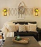 Wall Decor Mason Jar Sconces - Home Decor Wall