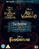 Tim Burton 3D Movie Collection