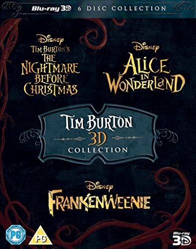 Tim Burton 3D Movie Collection (Tim Burton Helena Bonham Carter Johnny Depp)
