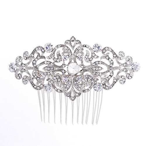 Rhinestone Crystal Hair Comb,Bridal Wedding Hairpin,Side Hair Comb,Hair Accessories Jewelry FA5018