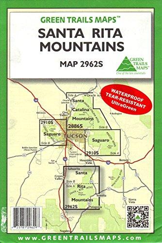 Santa Rita Mountains (Hiking / Mountain Biking / Equestrian Trails, 2962S)