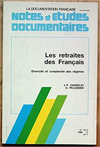 Amazon Fr Les Retraites Des Francais Diversite Et