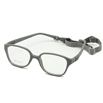 db8d8e718792 Amazon.com  EnzoDate Kids Glasses Frame with Strap Size 44 15 ...