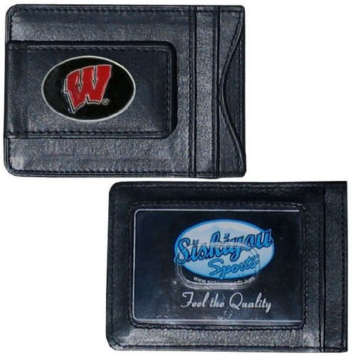Wisconsin Badgers Black Leather - 2