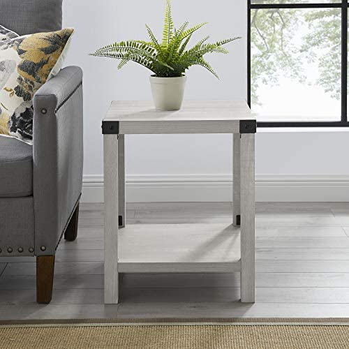 home, kitchen, furniture, living room furniture, tables,  end tables 11 discount Walker Edison Furniture Company Rustic Modern Farmhouse Metal in USA