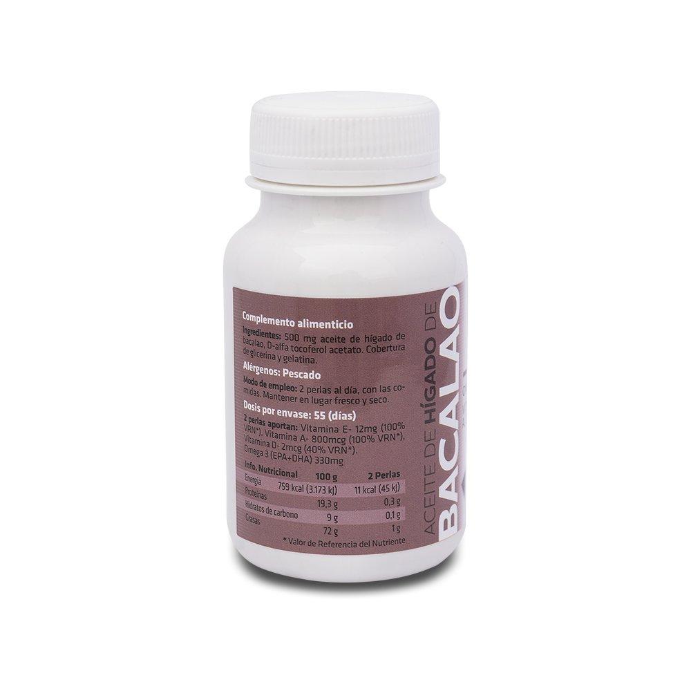 SOTYA - SOTYA Hígado de Bacalao 110 perlas 700 mg: Amazon.es: Salud y cuidado personal