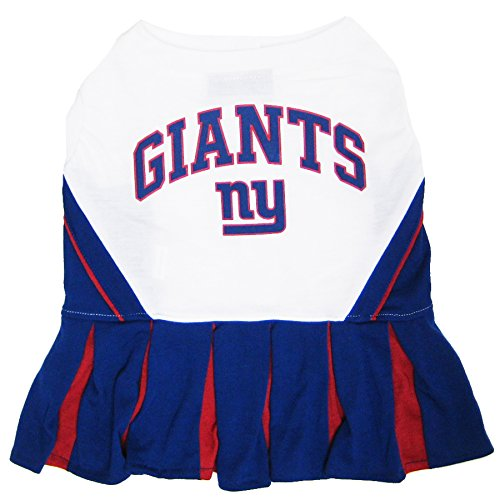 New York Giants NFL Cheerleader Dress For Dogs - Size Small