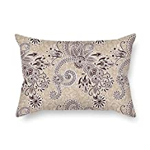 The Bohemian Pillow Shams Of 16 X 24 Inches / 40 By 60 Cm Decoration Gift For Coffee House Club Saloon Chair Sofa Kids Room (twice Sides)