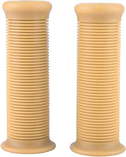 KSTE Paire de 1 Pouce de 25 mm Compatible with Moto poign/ée Vintage TPU Grip Guidon Caf/é Transparent