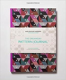 Amazon The Dreamday Pattern Journal Mid Century Modern