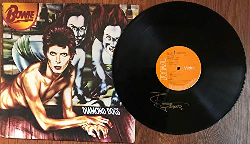 Autographed Record - David Bowie Signed Autographed 'Diamond Dogs' Record Album - COA Matching Holograms