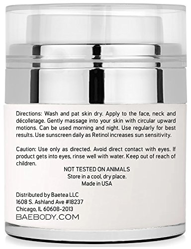 Baebody-Retinol-Moisturizer-Cream-for-Face-and-Eye-Area-With-Retinol-Hyaluronic-Acid-Vitamin-E-Anti-Aging-Formula-Reduces-Look-of-Wrinkles-Fine-Lines-Best-Day-and-Night-Cream-17-Fl-Oz