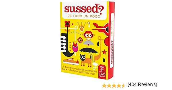 SUSSED DE TODO UN POCO (Divertidísimo y familiar juego de ...