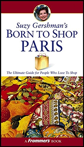 Suzy Gershman's Born to Shop Paris ebook