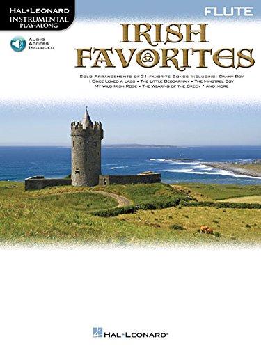 Irish Favorites For Flute Instrumental Play-Along Bk/Cd