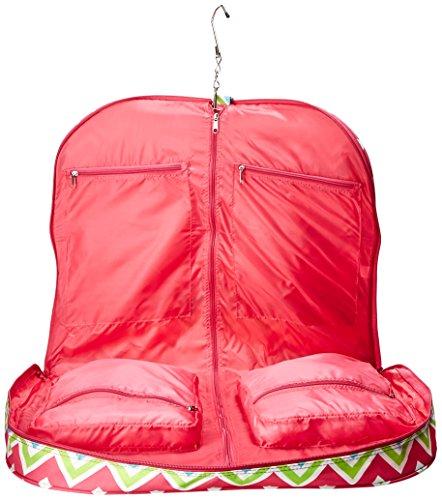 chevron hanging garment bag