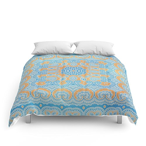 """Society6 A Passage To India Comforters King: 104"""" x 88"""""""