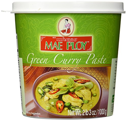 Mae Ploy Green Curry Paste 35oz Jar