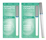 Harmless Stop Smoking Aid - 4 Week Quit Kit - Stop Smoking Aid - Includes Free Quit Smoking Support Guide.(Fresh Mint, 2 Pack)