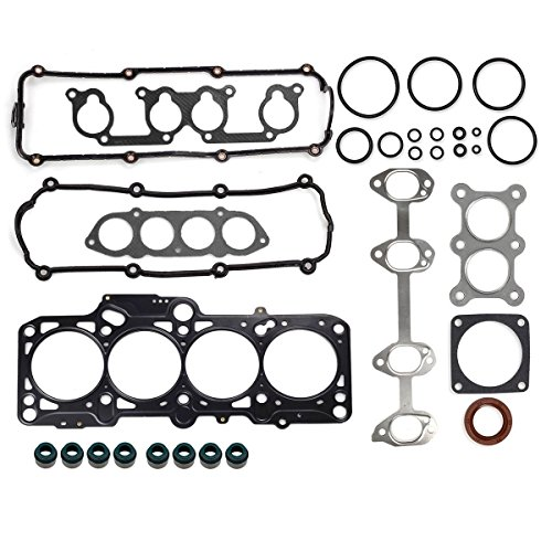 Vincos Cylinder Head Gasket Kit HS26161PT Fits For 1998-2005 VW New Beetle 2.0L 2003-2005 New Beetle Cabrio 2.0L 1999-2005 Volkswagen Jetta/Bora 2.0L 1999-2006 Golf 2.0L