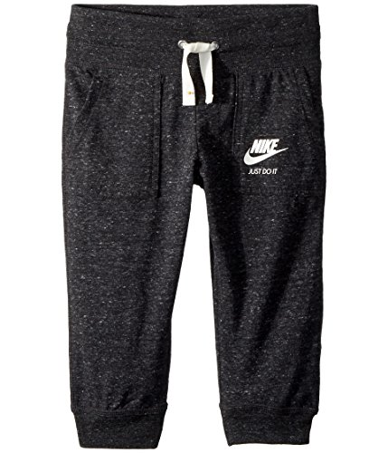 NIKE Knit Capris Big Kid Girls Black Size Large 890278-010