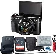 Canon Powershot G7X Mark II Point & Shoot Digital Camera + Accessory Bundle + Inspire Digital C
