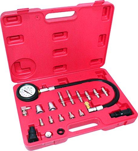1000psi 70bar Cylinder Pressure Meter Car Diesel Engine Compression Tester Kit ()