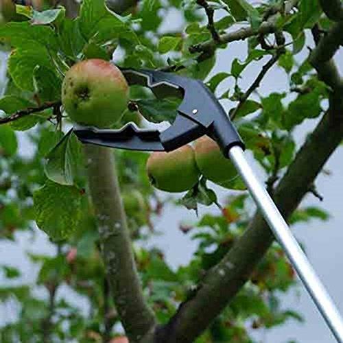 3.3 x 12 x 95 cm Argent/é Defenders STV333 Perche Ramasse-Fruits