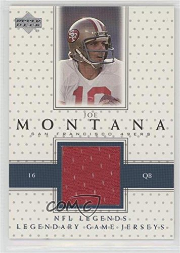 Joe Montana (Football Card) 2000 Upper Deck Legends - Legendary Game Jersey #LJ-JM ()