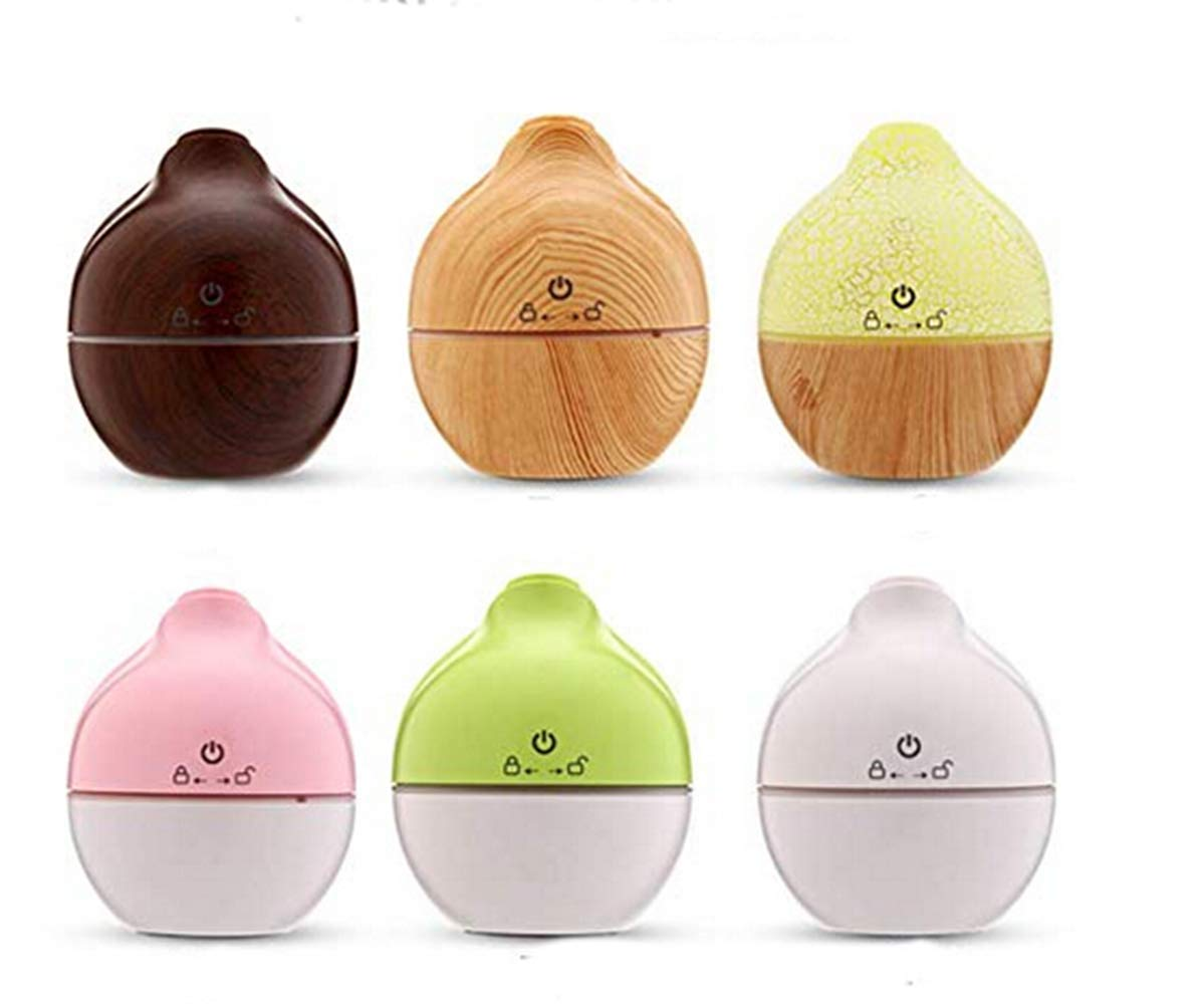 Lily-Li 130ml LED Ultrasonic Aroma Humidifier Air Aromatherapy Essential Oil Diffuser USB for Home Yoga Office Spa Bedroom (A) by Lily-Li (Image #5)