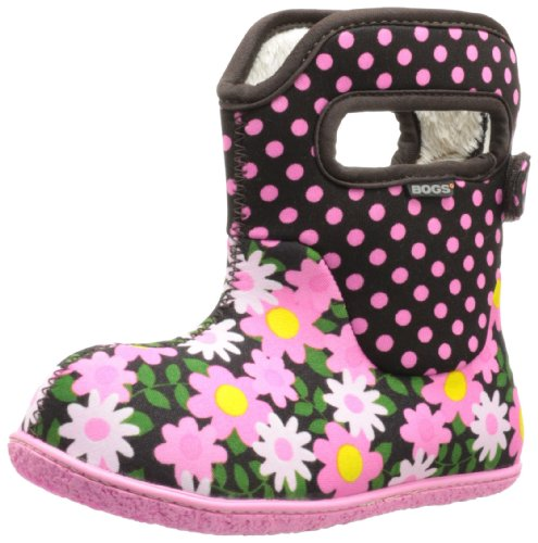 Price comparison product image Bogs Kids Classic Daisy Dot Waterproof Winter & Rain Boot (Toddler),  Coffee,  10 M US Toddler