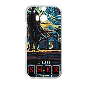 Sher locked Cell High Quality Phone Case for HTC One M8