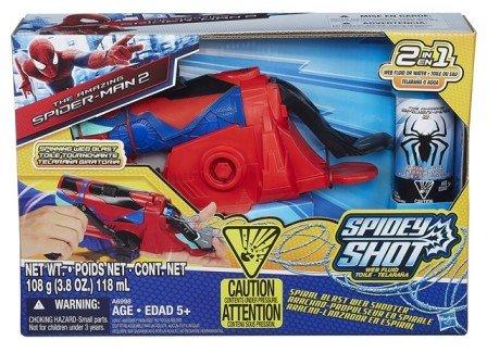 Spider-Man Marvel Spiral Blast Web Shooter Figure