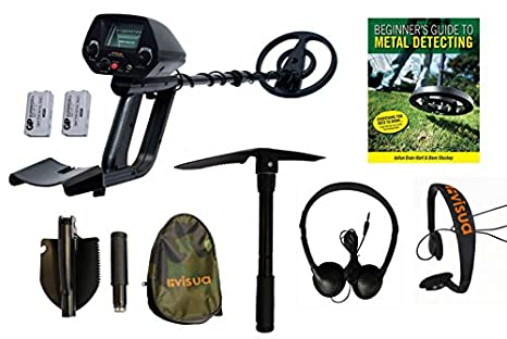 Discriminating Metal Detector (Kit: H/Phones Batts Pick & Beginners Guide),