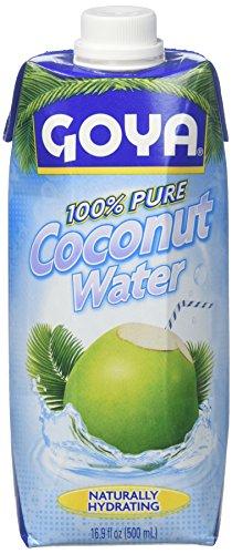 (Goya 100% Pure Coconut Water, 16.9 oz)