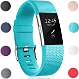 GEAK Replacement Bands for Fitbit Charge 2, Fitbit Charge2 Wristbands,Small,Teal