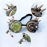 FTXJ Retro Steampunk Goggles Welding Punk Glasses